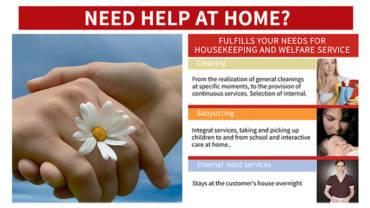 NEED HELP AT HOME? Domestic Services at Vega Baja